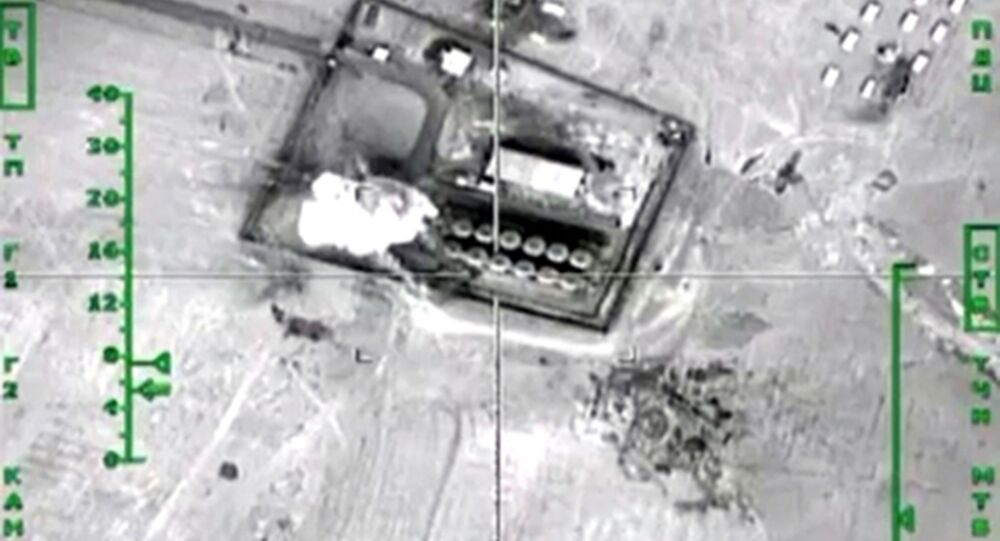 Russian airstrikes on the Daesh oil refineries