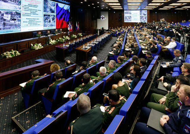 Briefing by Russian Defense Ministry in Moscow