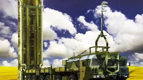 Image of the Nudol anti-satellite missile system posted on a Russian website. - Sputnik International