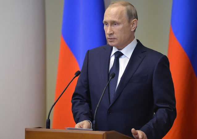 Russian President Vladimir Putin's working visit to Northwestern Federal District
