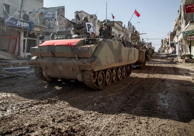 Turkish troops in Syria. File photo