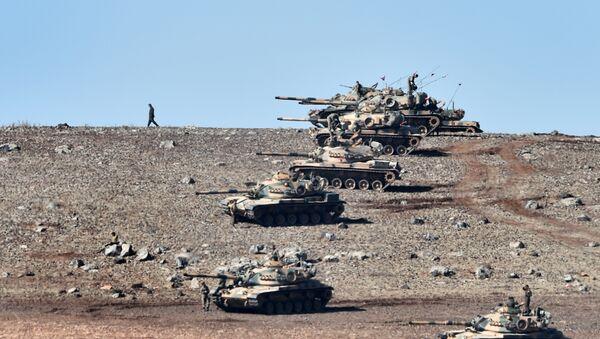 Turkish tanks - Sputnik International