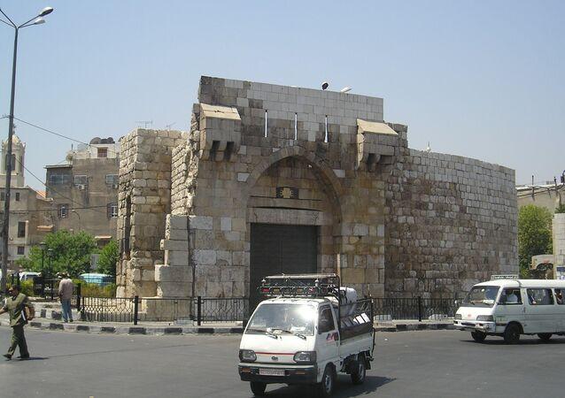Bab Tuma gate in Damascus