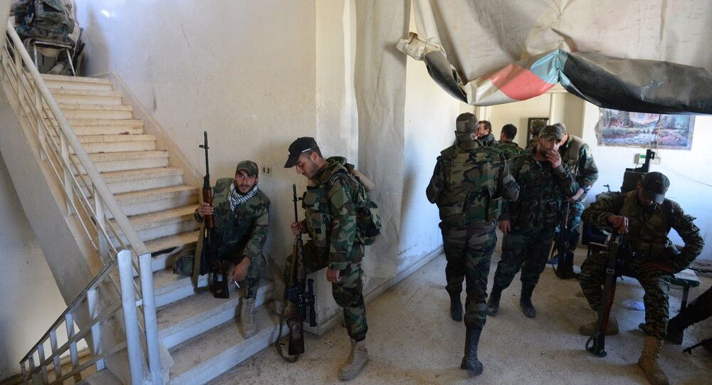 Syrian army's special operation in Douma, a Damascus suburb