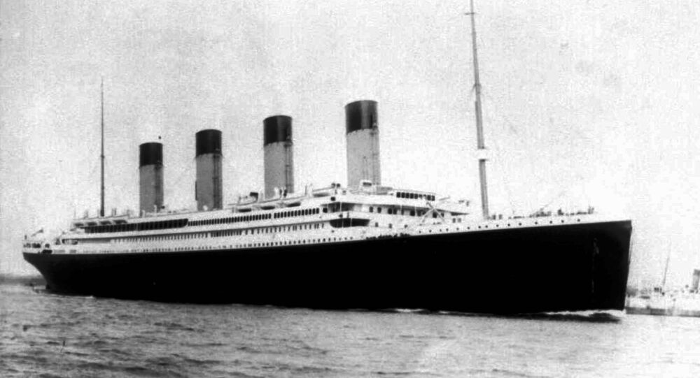 Undated file photo of the doomed liner the S.S. Titanic. Salvage operators hope to raise a large chunk of the British liner, which sunk on it's maiden voyage 84 years ago, when it struck an iceberg in the north Atlantic. More than 1500 people died in the icy waters of the Atlantic when Titanic sank.