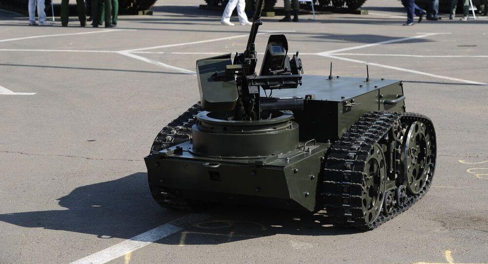 Multipurpose combat robot