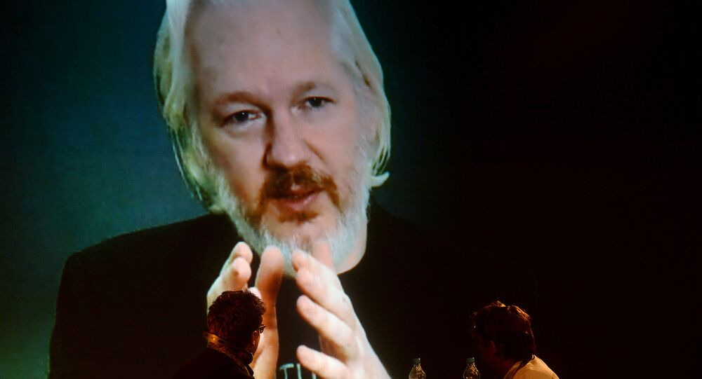 Julian Assange. File photo