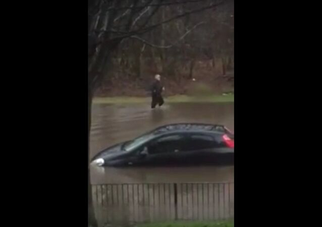 Flooding in Drumchapel