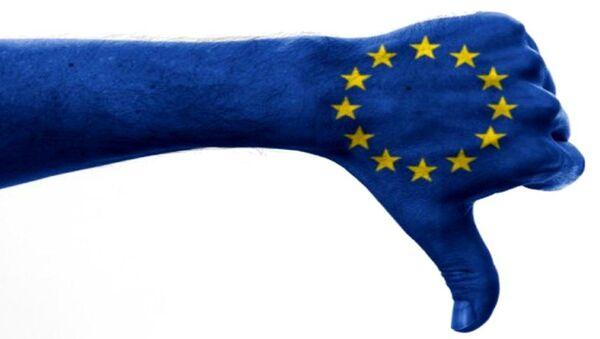 Euroscepticism graphic - Sputnik International