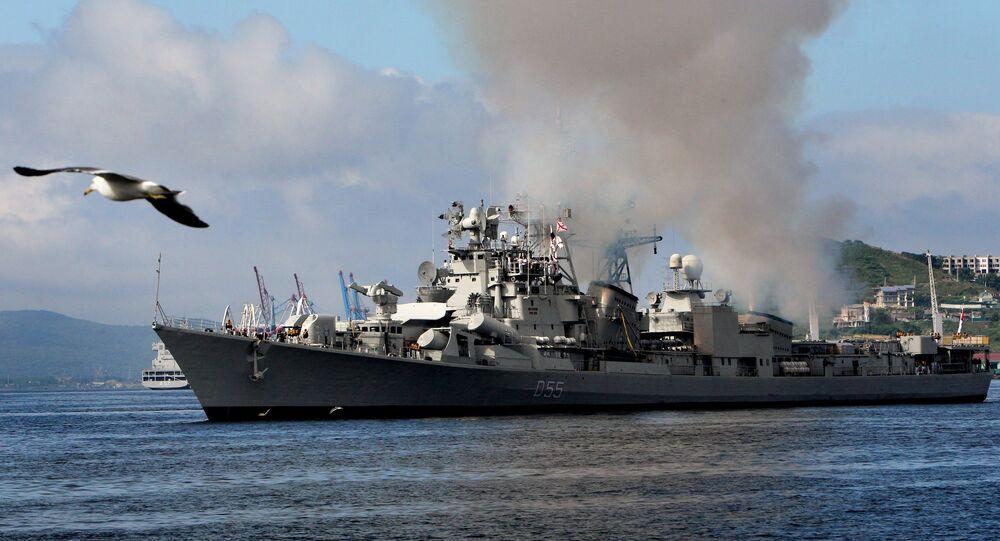 Warships of Indian Navy welcomed in Vladivostok