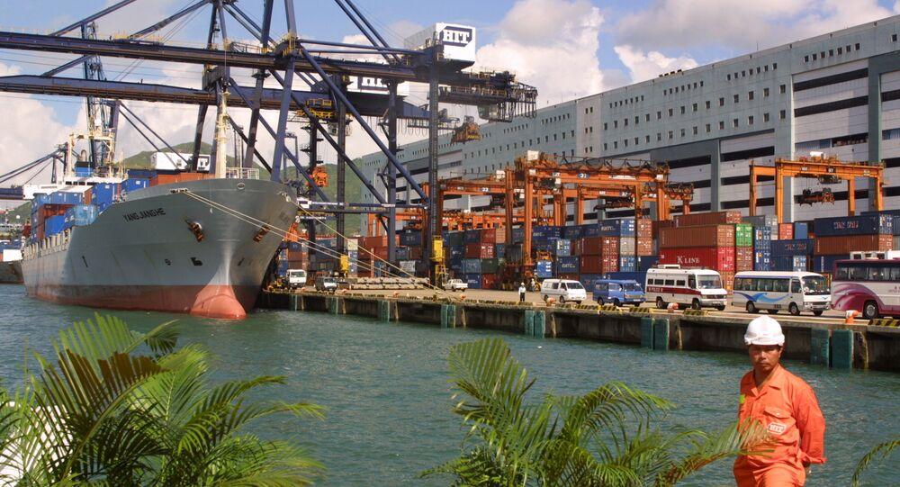 Hong Kong trade port