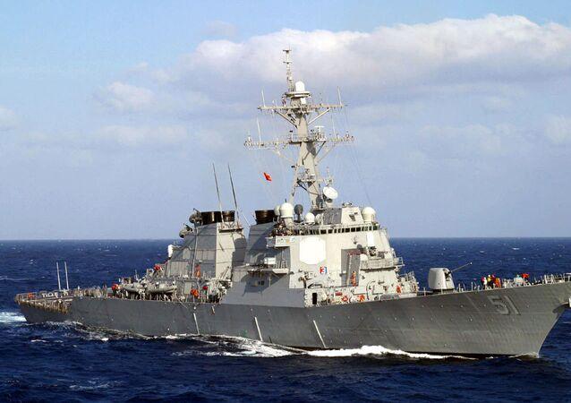 DDG51 Arleigh-Burke-class destroyer