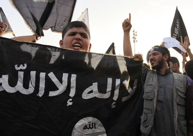 Daesh supporters in Libya. file photo