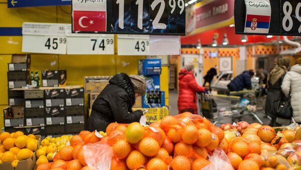 Russia bans imports of fruits, vegetables from Turkey - Sputnik International