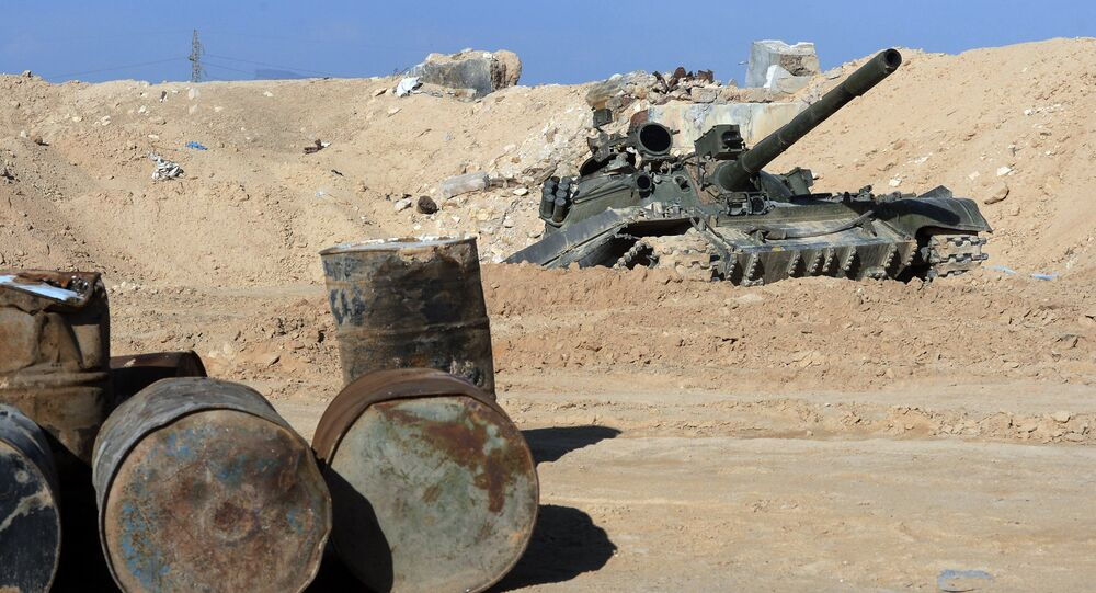 The Syrian army has reportedly managed to drive Daesh militants out of vast areas along the strategic Damascus-Homs highway in central Syria