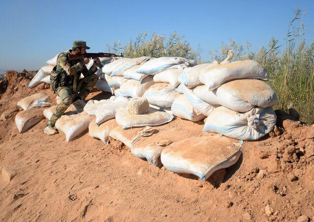 Syrian Arab Army (SAA) soldier (File)