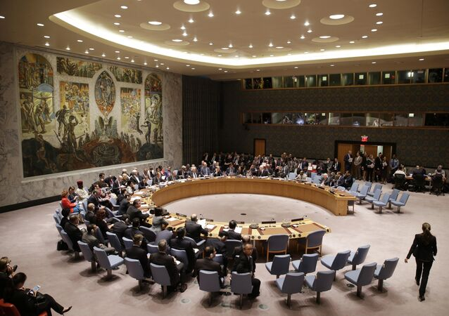 The UN Security Council meets at United Nations headquarters, Wednesday, 30 September 2015