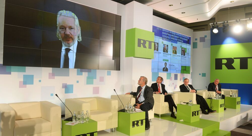 RT conference, Shape-shifting Powers in Today's World