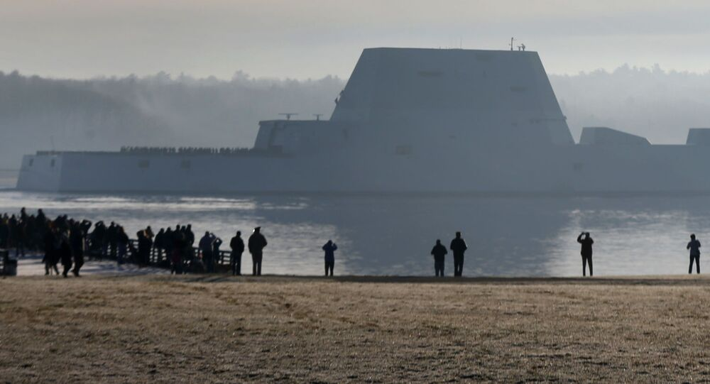 The Zumwalt-class cruiser
