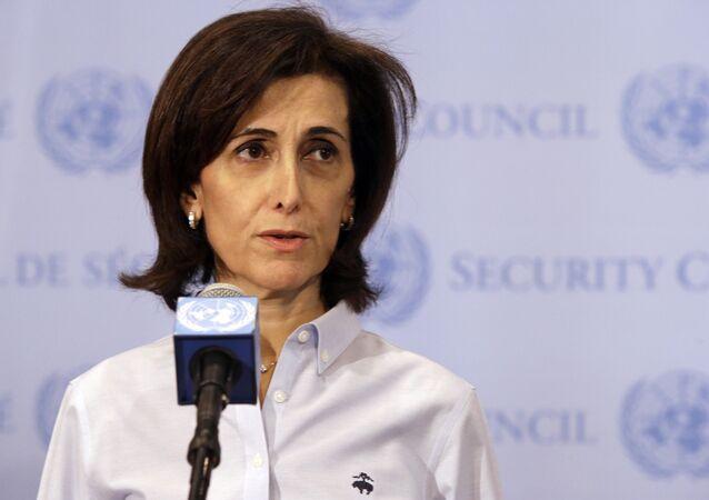 Jordanian Ambassador to the United Nations Dina Kawar