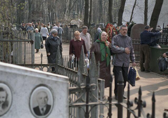 Vagankovo Cemetery, Moscow.