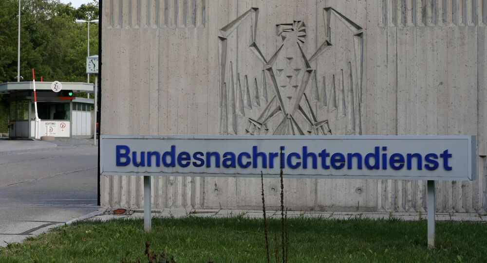 The entrance to Germany's intelligence agency Bundesnachrichtendienst BND in Pullach, southern Germany.