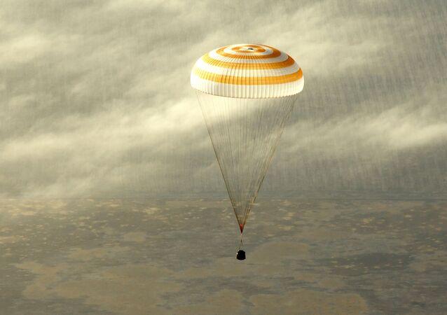 Soyuz descent module. File photo