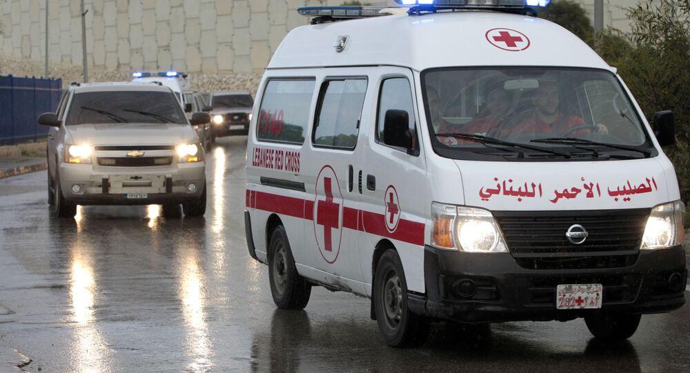 Syrian ambulance