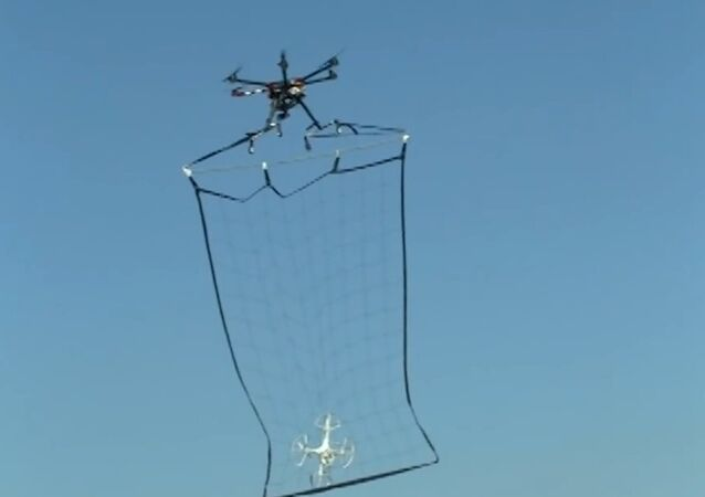 Nice Catch! Japanese Drone-Catcher Hunts Disobedient UAVs With Net