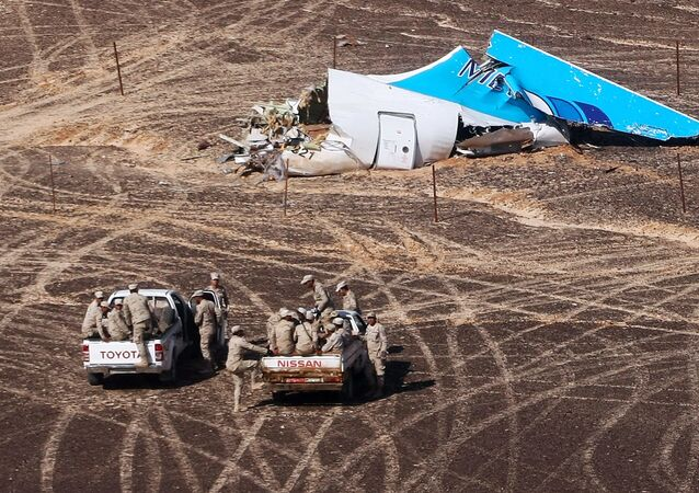 A321 crash site