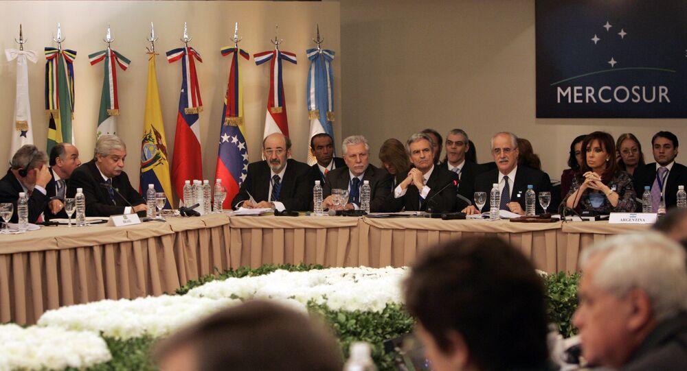 Mercosur summit. (File)