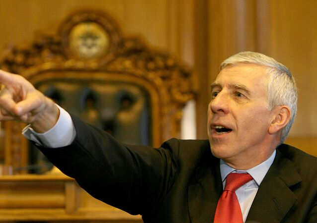 Jack Straw, Britain's former foreign secretary