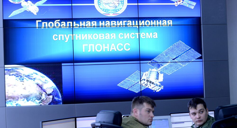 The command and control post of GLONASS in the Titov Main Space Testing Center in Krasnoznamensk, the Moscow Region