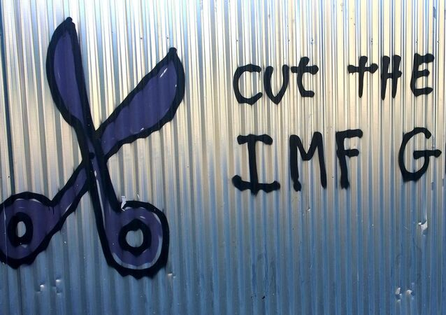 Cut the Debt. IMF Go Home Athens 2015