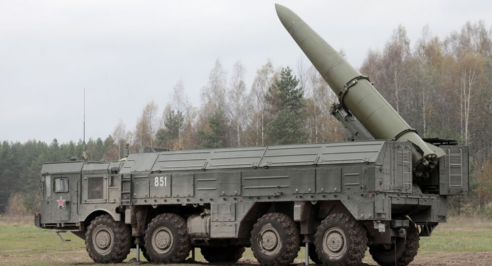 Iskander missile system