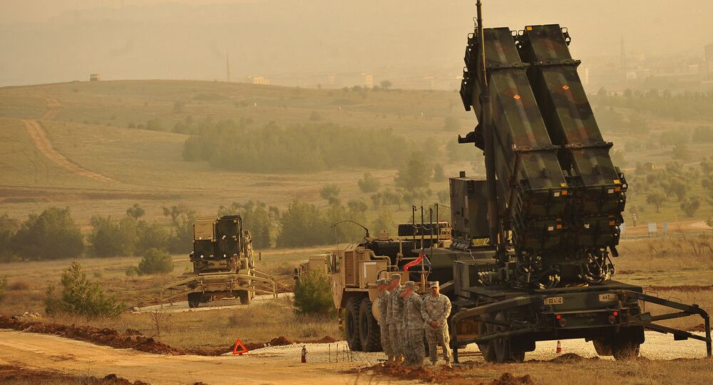 Six batteries of NATO-backed missile defense systems set up in southeastern Turkey to protect against aerial attacks from war-torn Syria