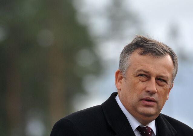 Leningrad Region Governor Alexander Drozdenko