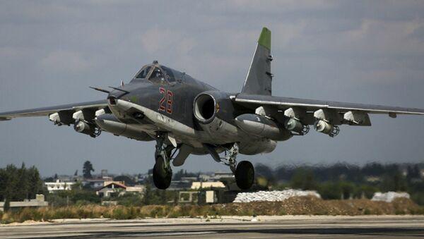 Combat flights of the Russian aviation in Syria - Sputnik International