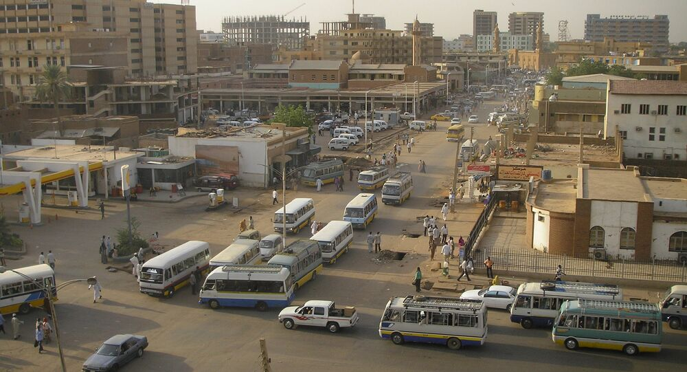 Sudan. Khartoum main centre and street life