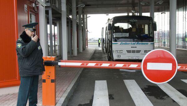 Shebekino customs checkpoint on Russian-Ukrainian border. File photo - Sputnik International