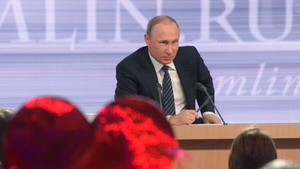 Meet the Press: Vladimir Putin's Annual Press Conference - Sputnik International