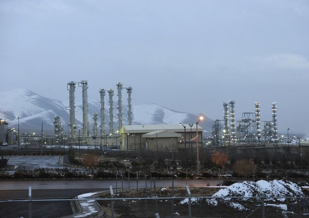 In this Jan. 15, 2011 file photo, Iran's heavy water nuclear facility is backdropped by mountains near the central city of Arak, Iran