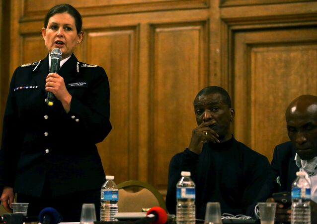 Metropolitan Police Assistant Commissioner Helen King speaks at a public meeting with regards to the shooting of Jermaine Baker by armed police at Tottenham, December 17, 2015.