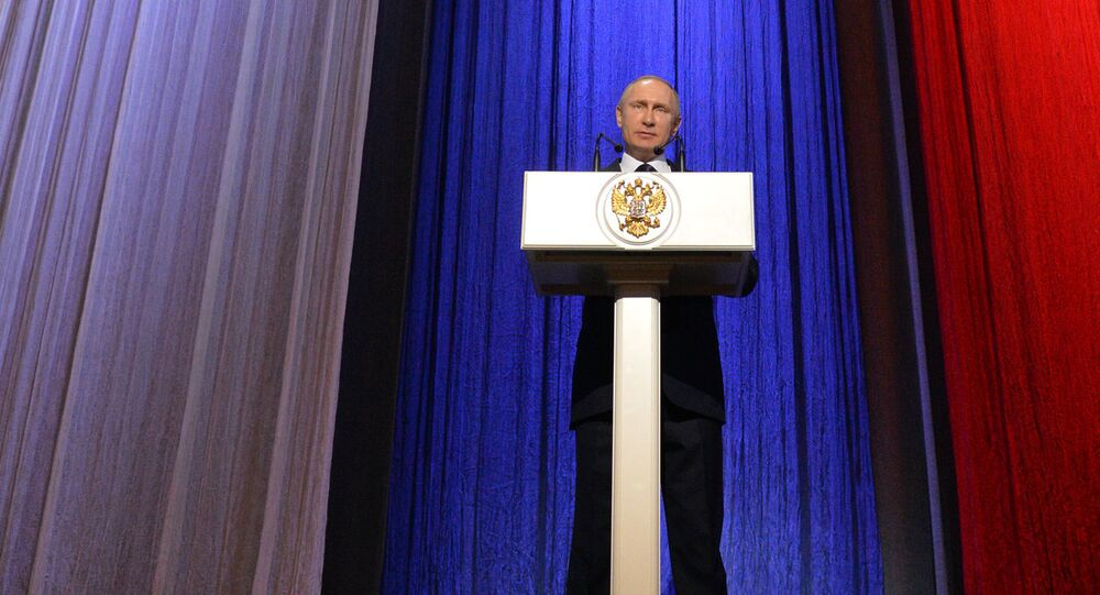 President Putin attends gala night marking Russian Security Services Day