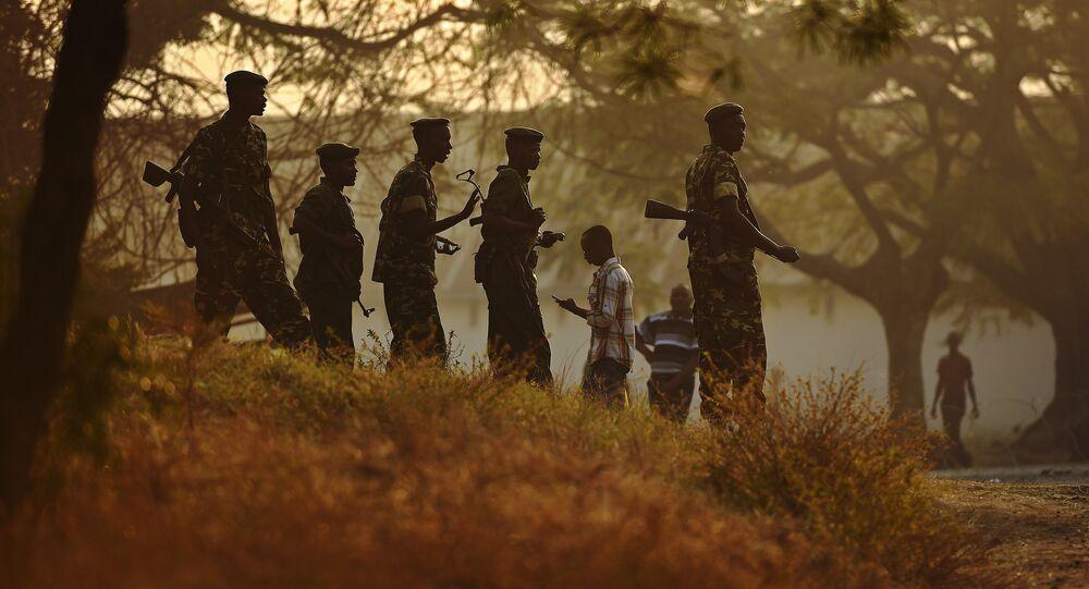 The Burundi peace talks began on Monday