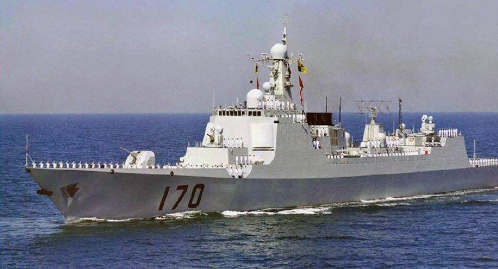 Lanzhou destroyer