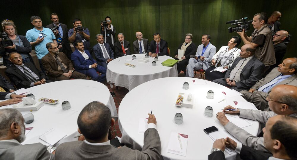 Yemen peaces talks in Geneva. (File)