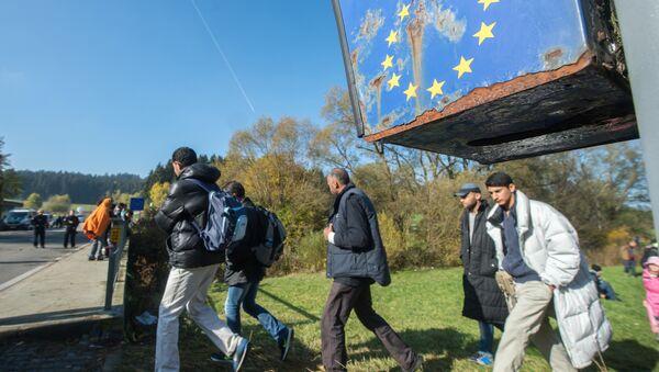 EU Migrant crisis - Sputnik International