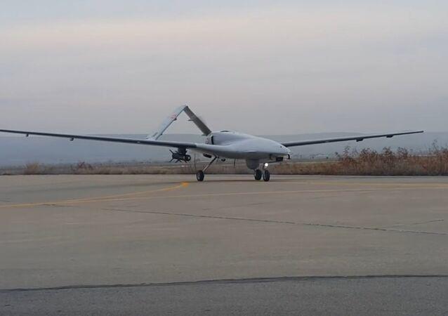 Armed drone Bayraktar