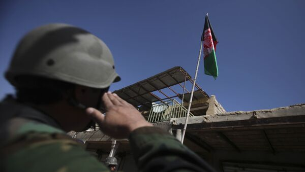 UK, US deploy troops in Afghanistan - Sputnik International